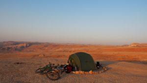 Traumzeltplatz in der Judäischen Wüste