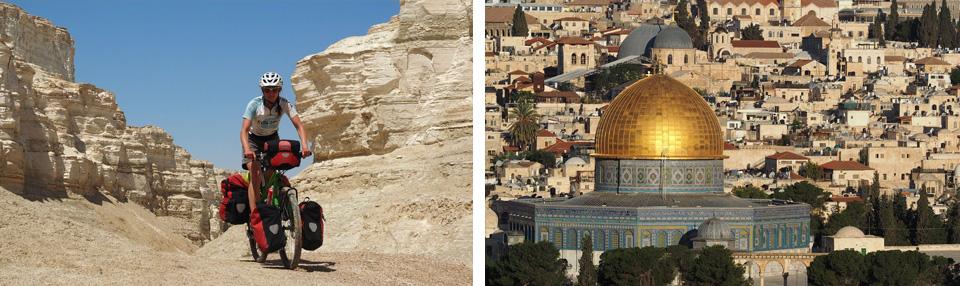 Radreise Israel