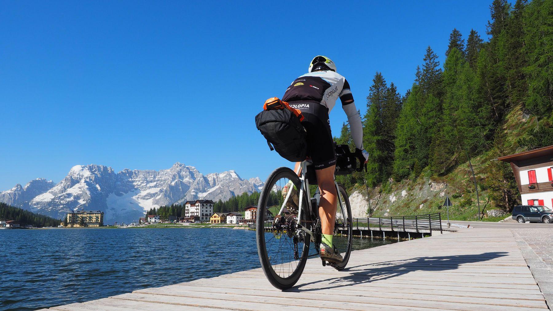 Rennrad Bikepacking Südtirol, Veneto & Friaul