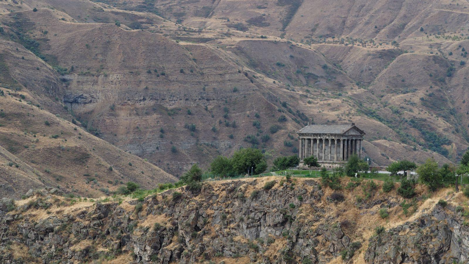 Radreise Armenien - Tempel in Garni