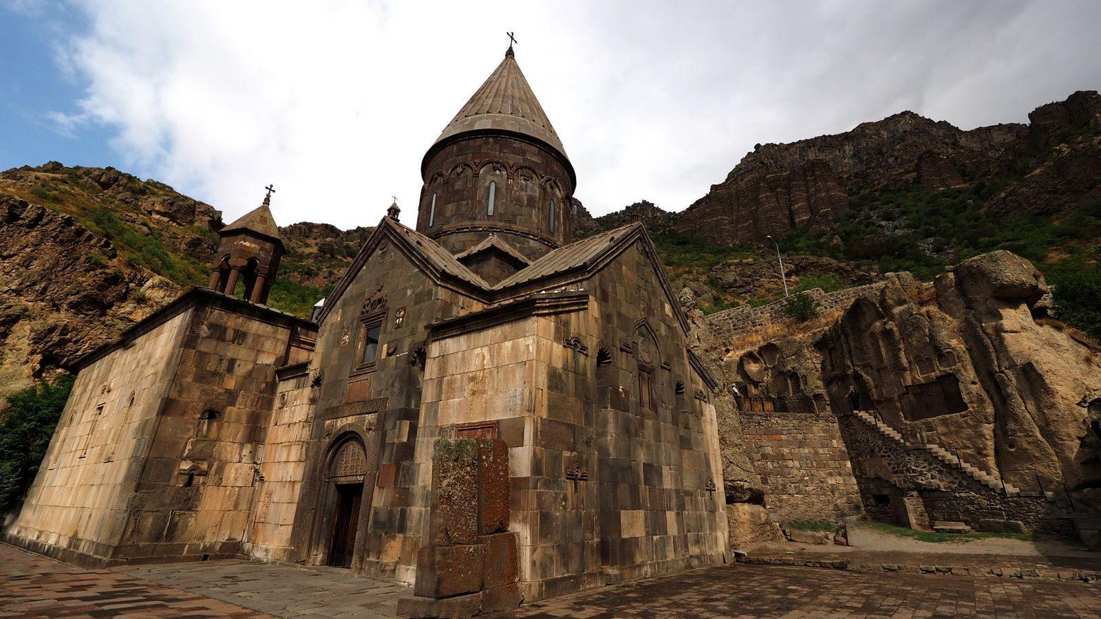 Radreise Armenien - Kloster Geghard