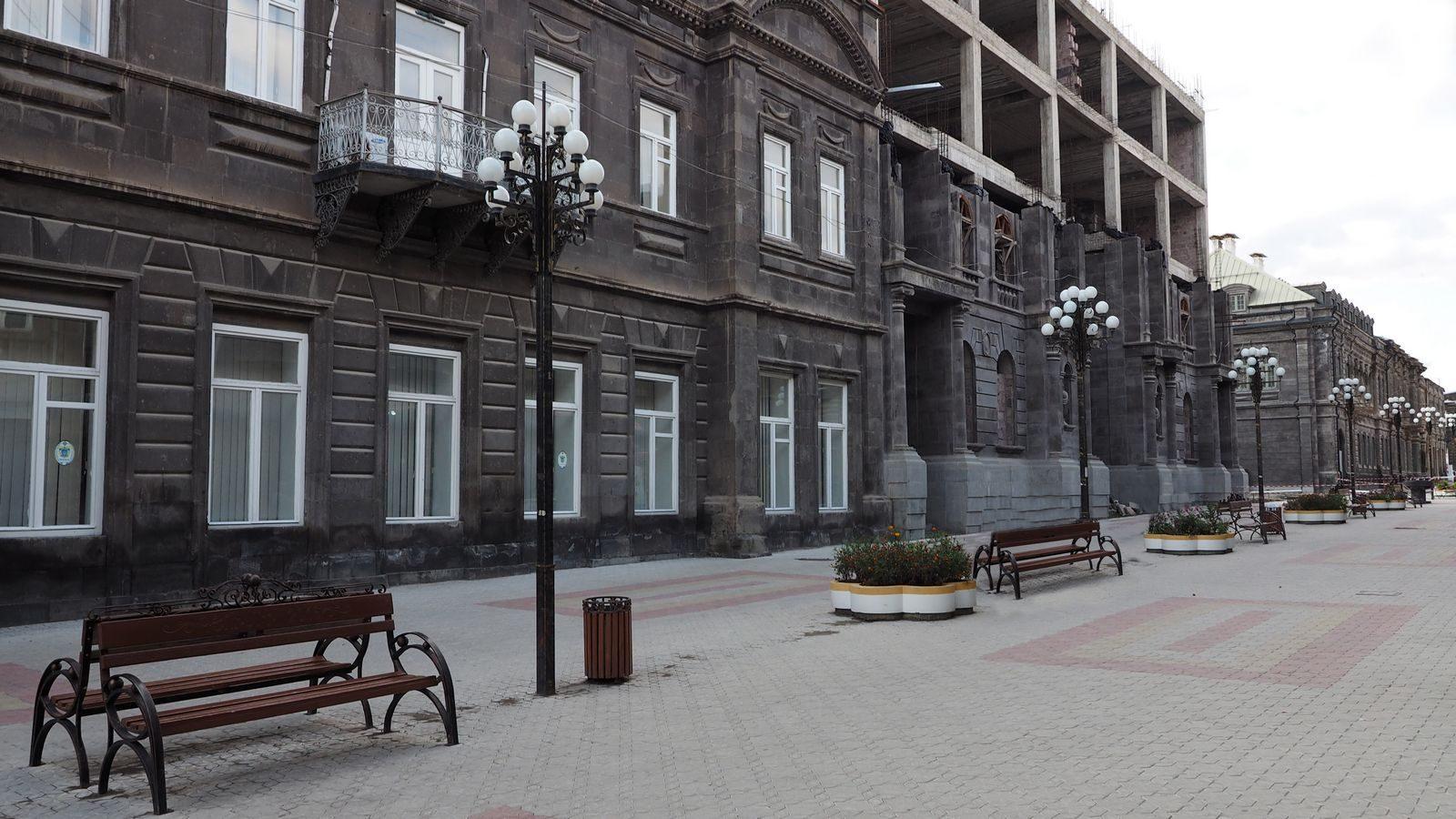 Radreise Armenien: Gjumri
