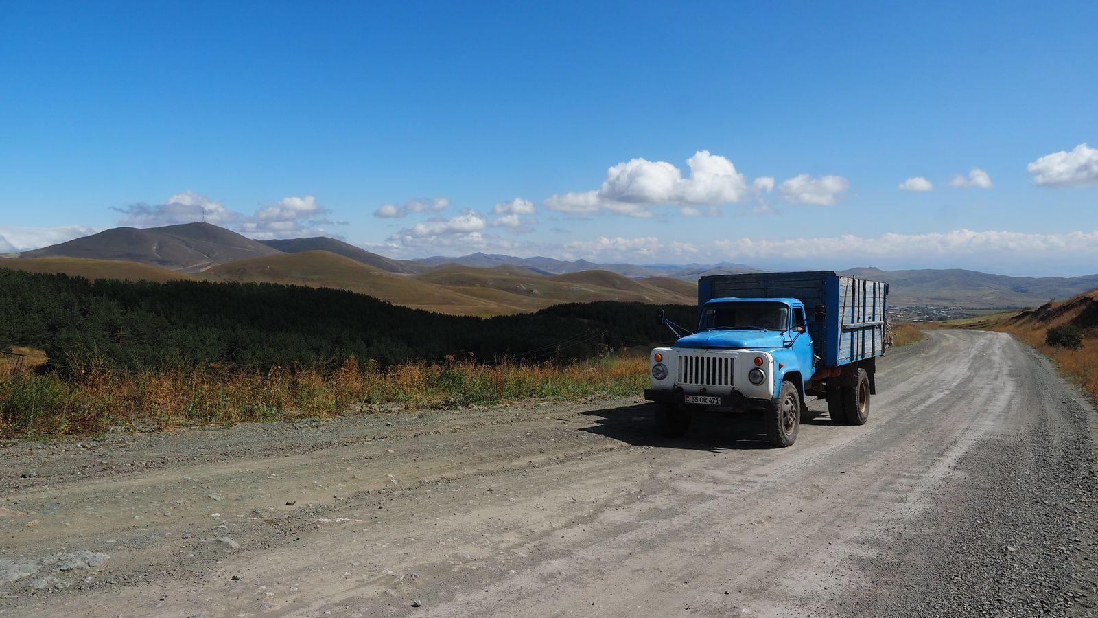 Radreise Armenien - auf dem Weg zum Arpi-See