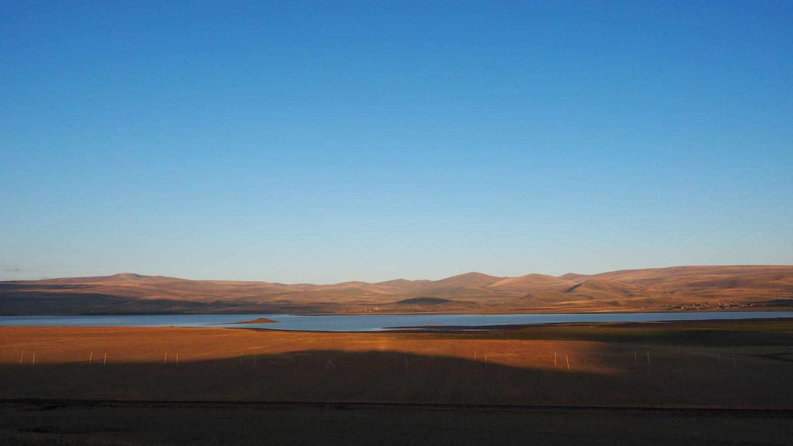 Radreise Armenien - Arpi-See