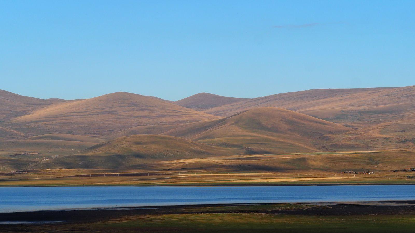 Radreise Armenien: Arpi-See