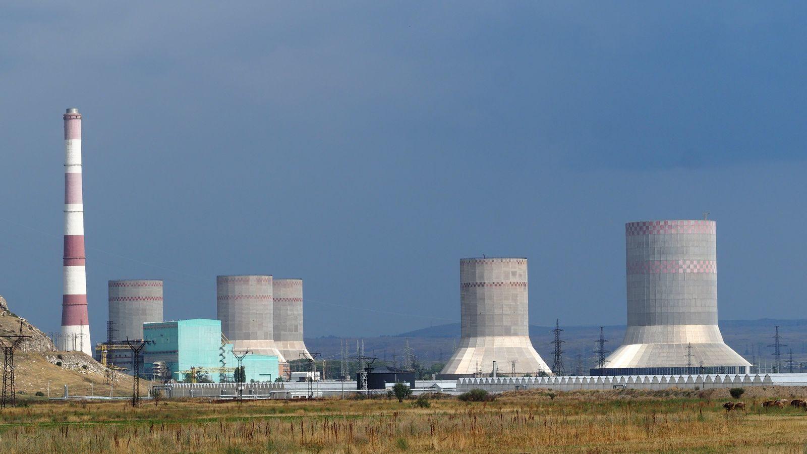Radreise Armenien - Hrazdan Thermal Power Plant