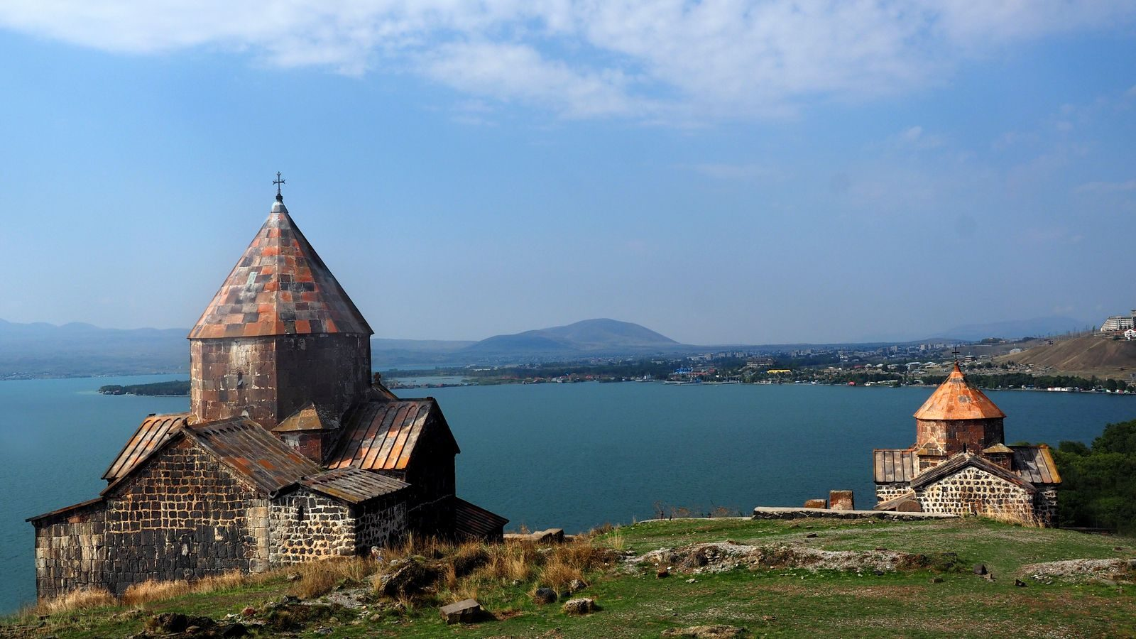 Radreise Armenien - Kloster Sewanawank, Sewansee