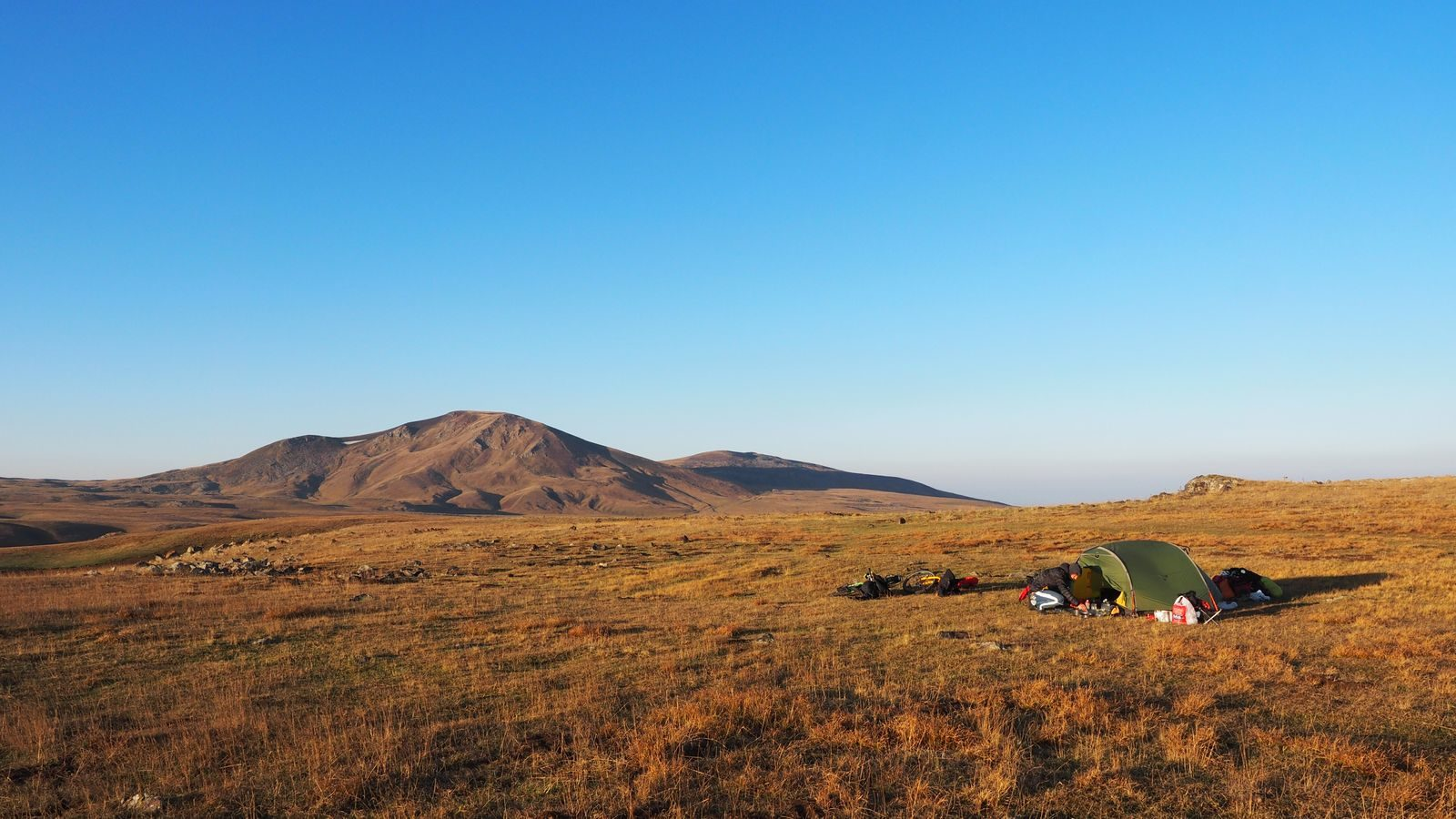 Radreise Armenien - Geghama Berge