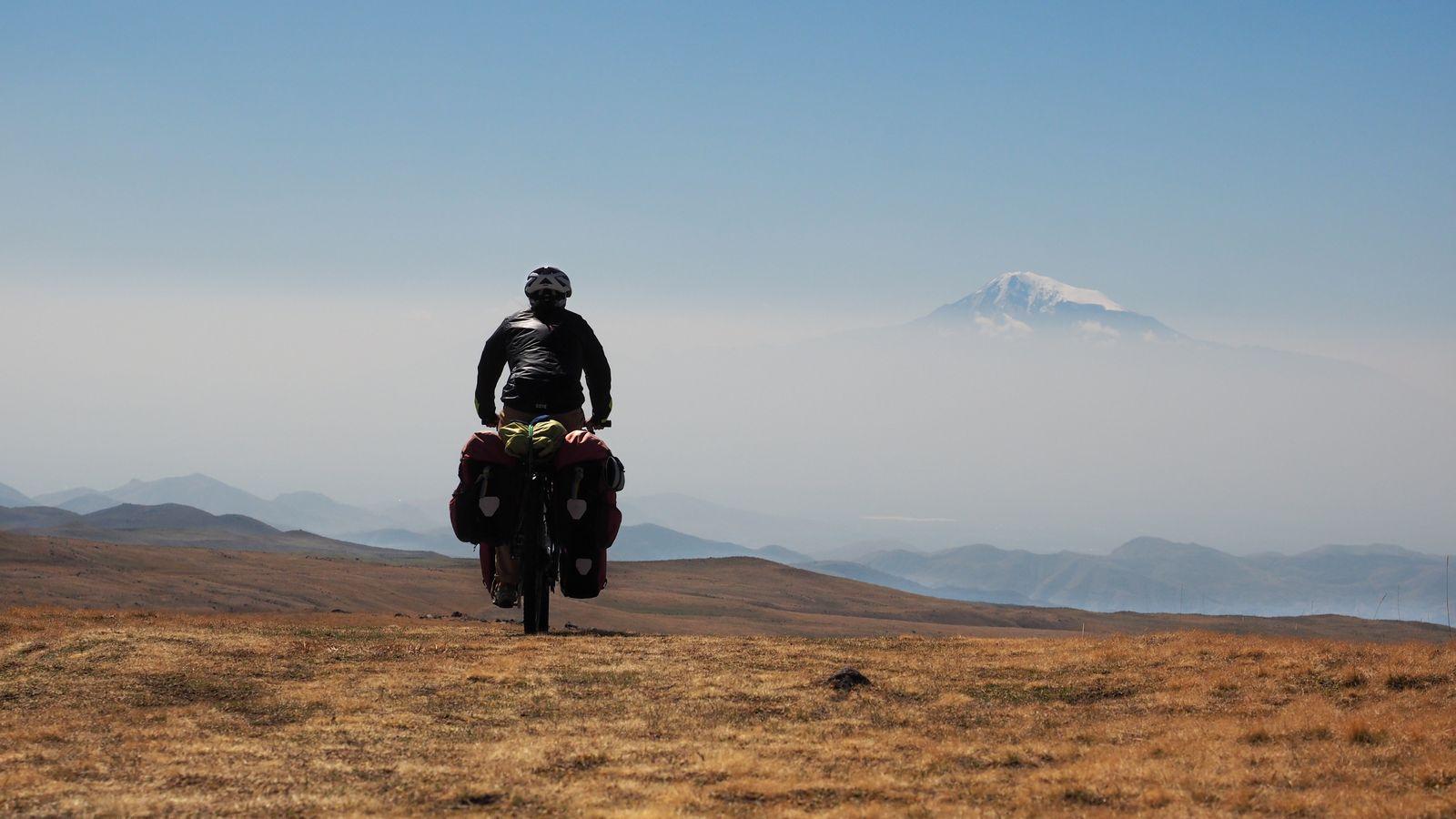 Radreise Armenien