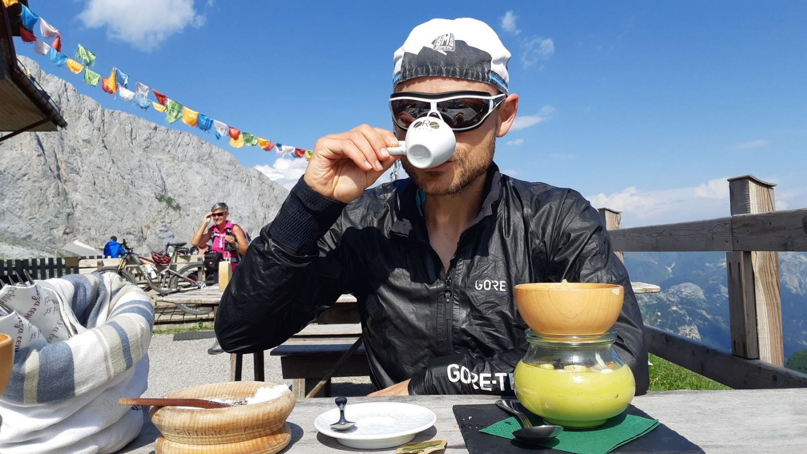 Bikepacking Karnische Alpen - Marinelli Hütte